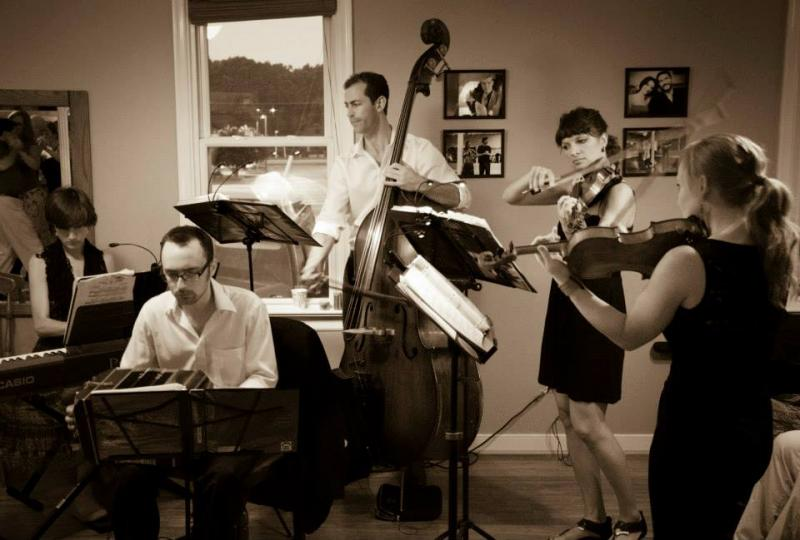 Photo courtesy of Joe Ring. Redwood Tango Ensemble performing in Richmond, VA
